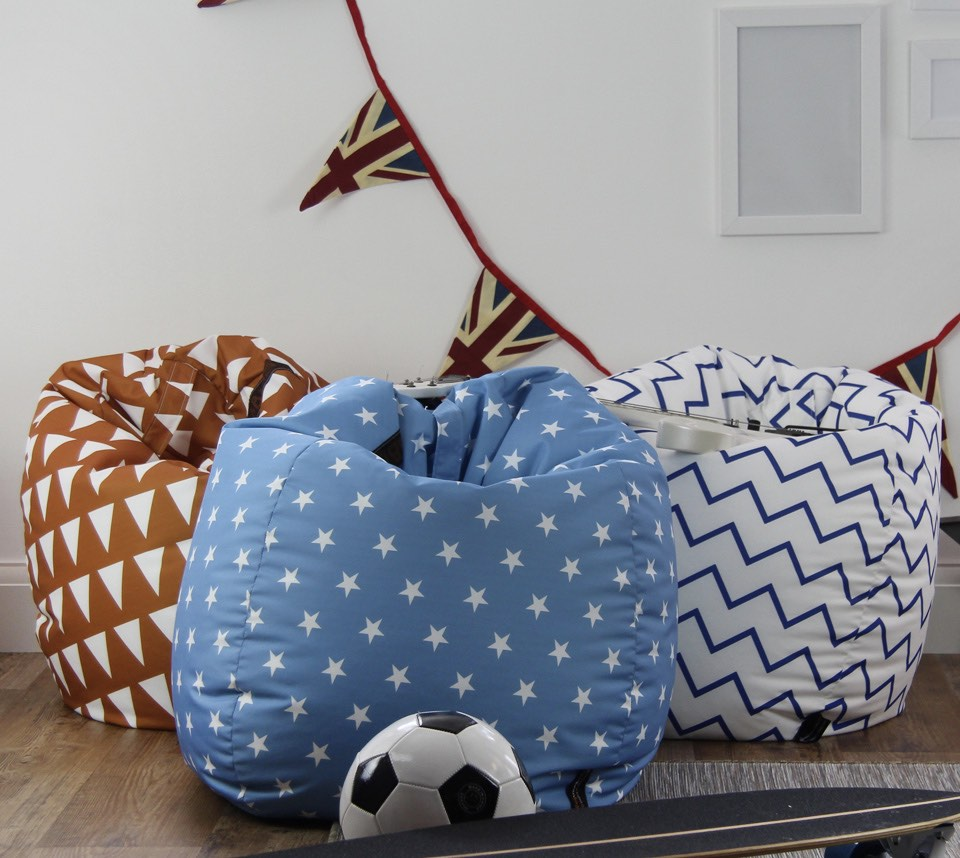 Patterned Bean Bags