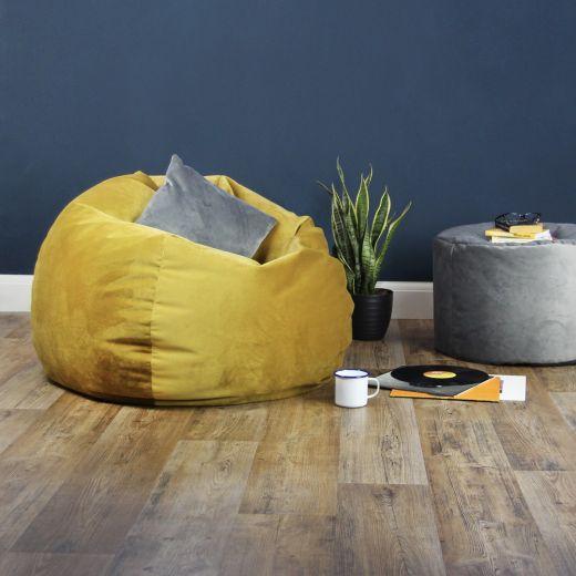 Designer Velvet Bean Bags
